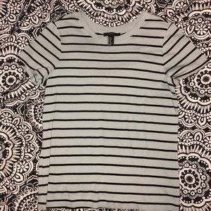 Forever 21 striped t shirt
